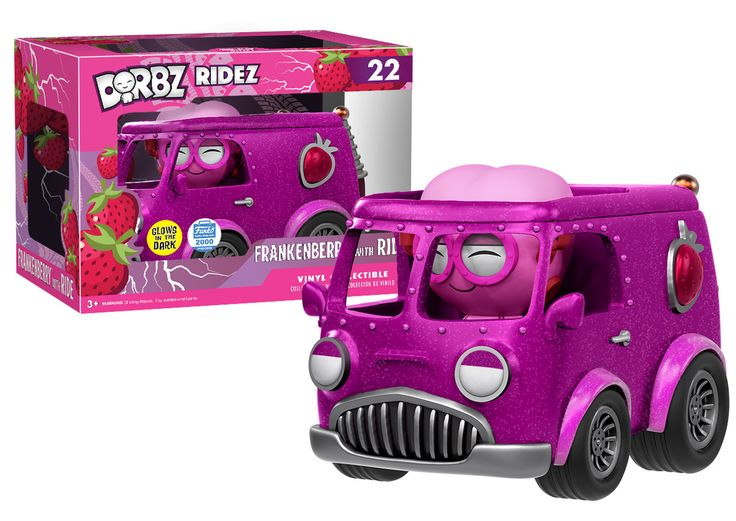 Monster Cereals: Frankenberry and van Dorbz Ridez by Funko, Funko-Shop exclusive 02/22/2017 LE 2000 pieces