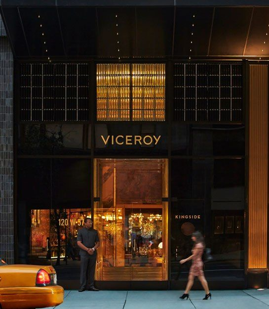 The Roman and Williams-designed Viceroy Hotel in New York