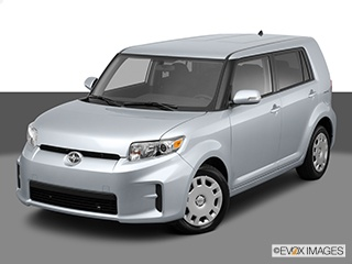 2012 Scion xB 5dr Wgn Man (Natl): Front angle high view