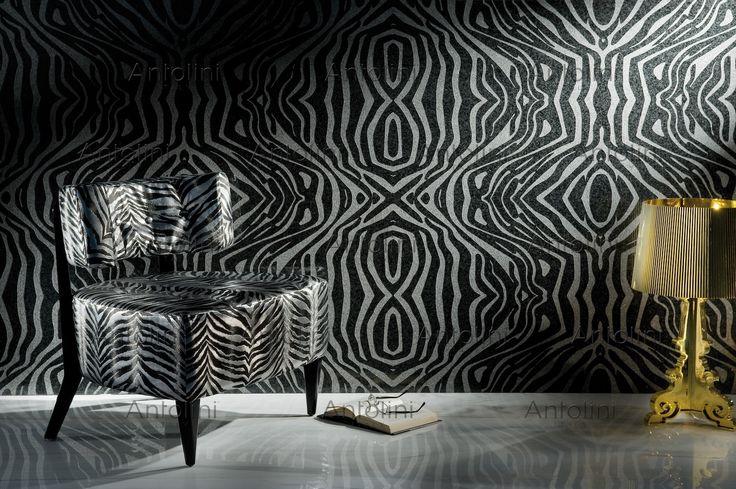 Impala Black: Zebra+ Design  Visit us on http://www.antolini.com/