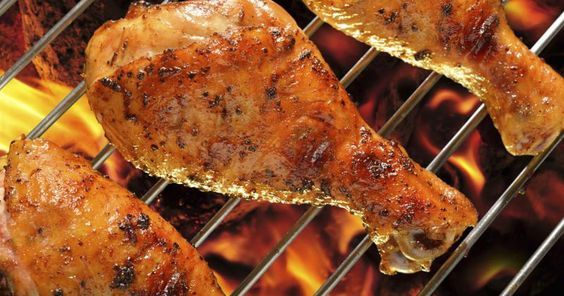 Chicken drumsticks are flavorful, fairly fatty cuts that stand up well to grilling, and remain moist when cooked over high heat. Cooking drumsticks on the grill at a moderately high temperature is the best grilling method because the meat stays tender and moist while the outside is crisp and golden brown. Serve chicken drumsticks with fresh green...
