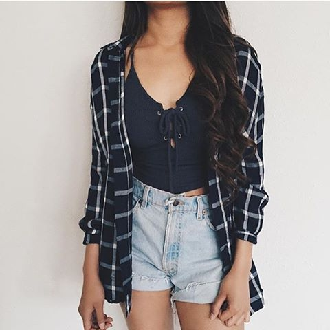 plaid flannel outfit tumblr google search ootds