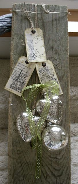 Holiday Decor - lovely! #decoration #Christmas #DIY