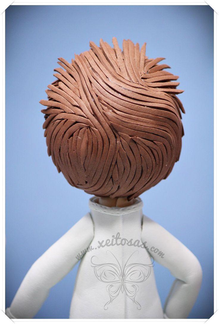 Peinado niño fofucha