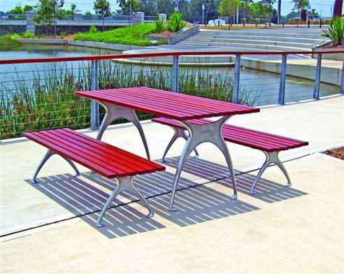 Modern Picnic Tables from Do-Smith & Sons http://www.dosmith.com.au/