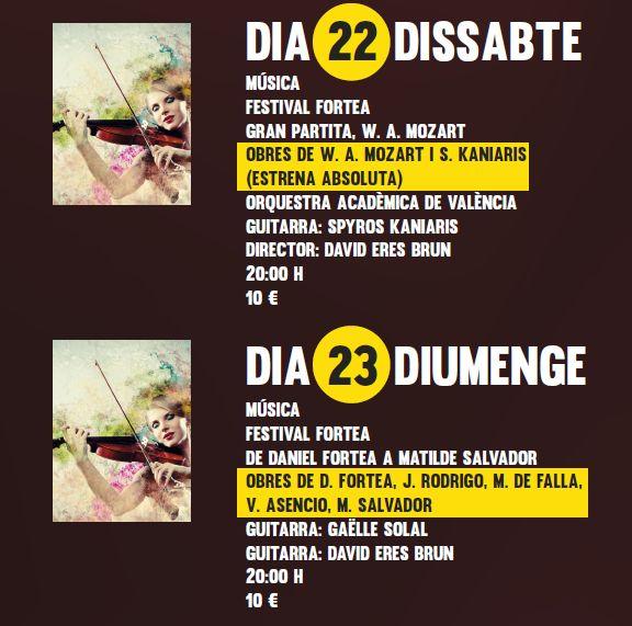 El VI Festival #Fortea 2014 en el Teatro del #Raval http://ow.ly/tP0LI