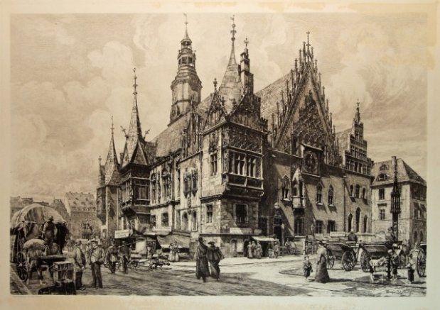 Hugo Urblich Ratusz Wroclawski