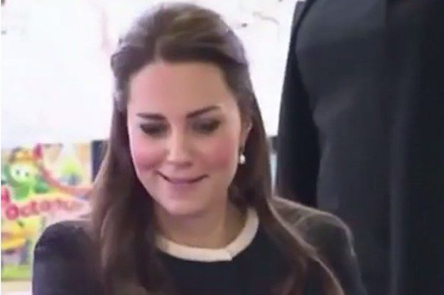 """As you must know by now, Duchess Catherine — Kate as I call her — is visiting New York. Whilst in this concrete jungle, she got some orders from a faceless lady telling her to """"Keep Wrapping."""" Kate's response needs no words. 