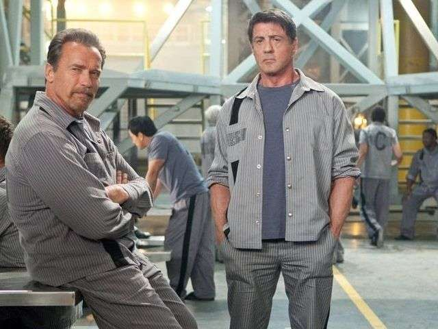 'Escape Plan' handcuffs stars with implausible story via @USATODAY