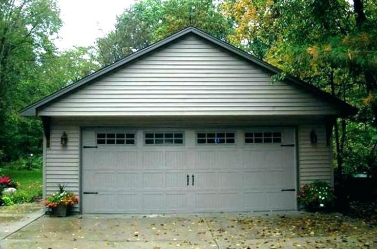 2 car garage photo by door cost spring replacement