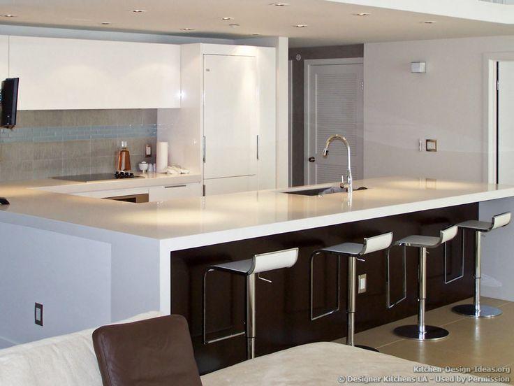 69 best Black and White Kitchens images on Pinterest Kitchen - designer kitchens