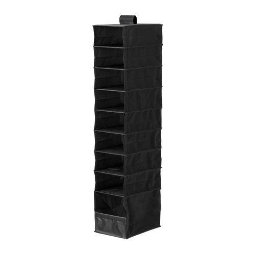 SKUBB Organizer with 9 compartments - black - IKEA