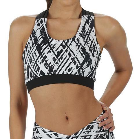 Tikiboo Cross Stripes Strappy Bra £26.99 www.tikiboo.co.uk