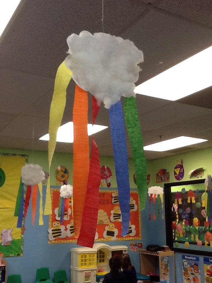 Rainbow Cloud Classroom Decoration Classroom Crafts