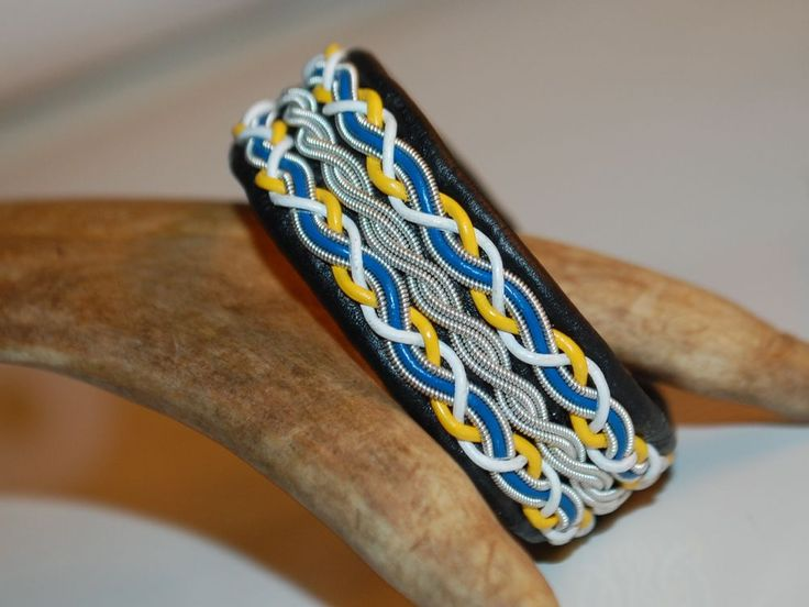 TENNARMBAND - SAMI BRACELET - MODELL TORNEDALEN via SolDesign. Click on the image to see more!
