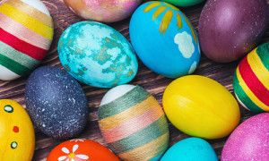 No plastic Easter eggs! Make that your mantra, and you've just banned quite a bit of the toxicity of Easter. Besides