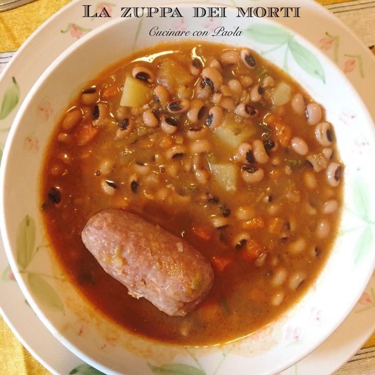 Zuppa dei morti! Ricetta tipica lombarda! Ricetta sul blog!