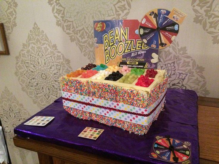 Bean Boozled Birthday cake