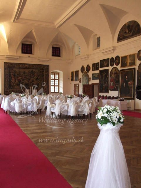 Castle wedding at Bojnice castle, Slovakia, Europe - in shiny summer, in winter white, with very nice people and perfect party straight at the castle.
