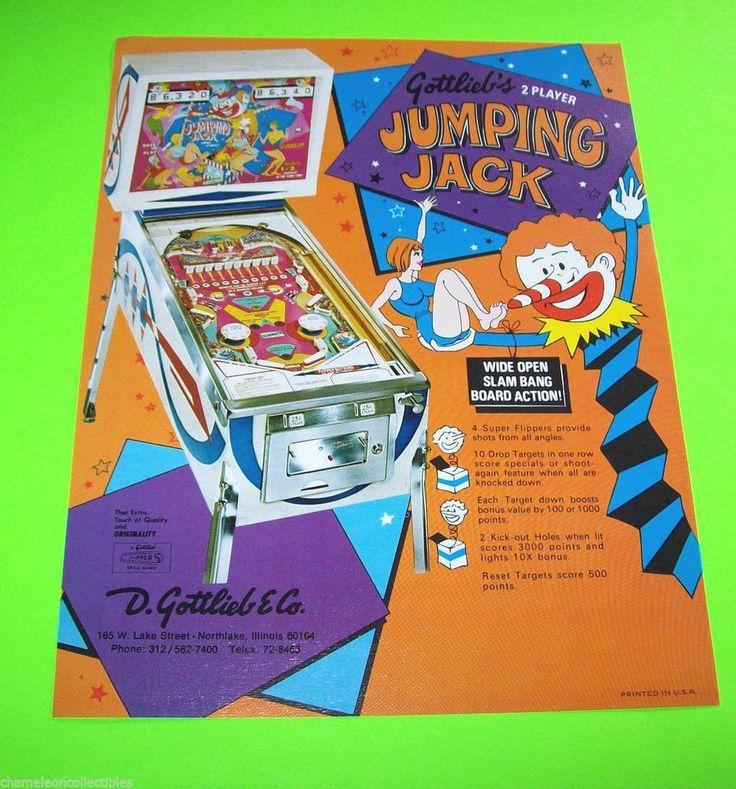 gottlieb jumping jack pinball machine Google Search