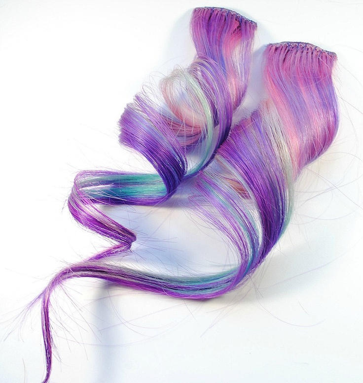325 best hair images on pinterest hairstyles colorful hair and plum blossom human hair extension purple by missvioletlace unicorn fairy hair without the pmusecretfo Image collections