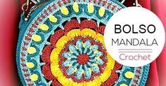Bolso Mandala a Crochet para tejer en casa  | Crochet y Dos agujas - Patrones de tejido
