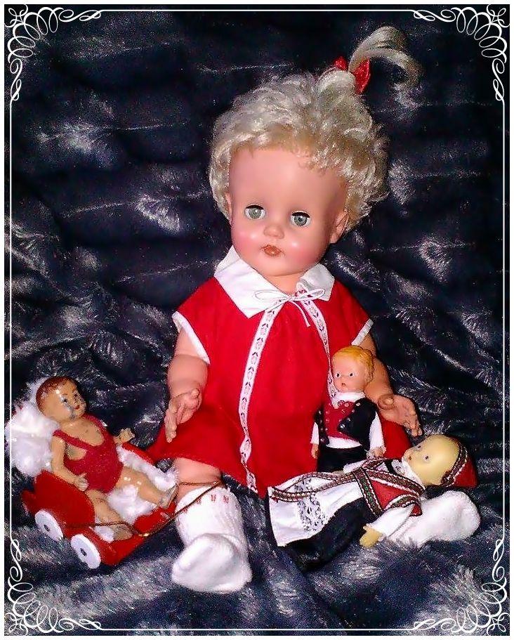 Baby dukke fra Lærdal.