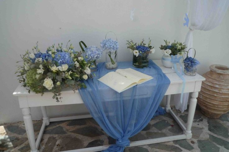 Something blue/Island Varkiza - EVENT DESIGN & PRODUCTION - mazi - design & creation services