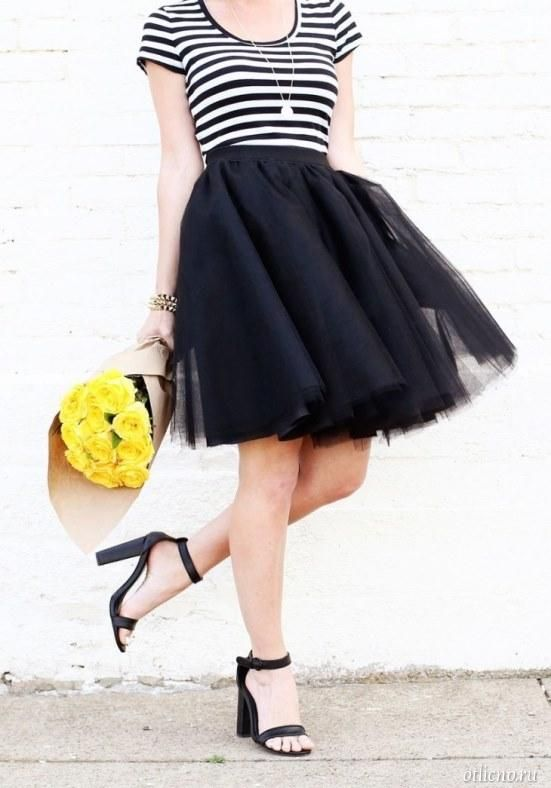 The tulle skirt tutu: what to wear and how to sew | Тюлевая юбка-пачка: с чем носить и как сшить