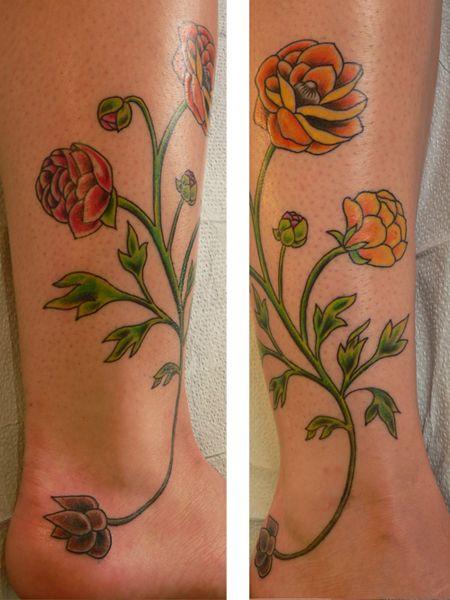 38 best japanese marigold tattoo images on pinterest floral tattoos flower tattoos and flowers. Black Bedroom Furniture Sets. Home Design Ideas