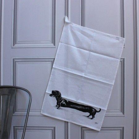 Rory Dobner Hot Dog Tea Towel http://www.grahamandgreen.co.uk/rory-dobner-hot-dog-tea-towel#