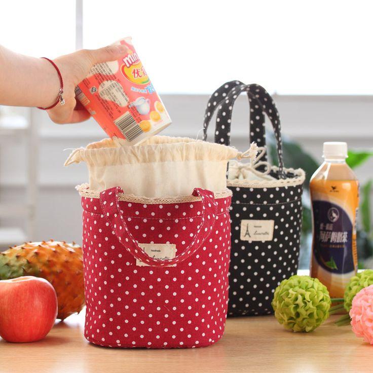 2016 Nova Moda Portátil almoço Isolados Saco Térmico Piquenique Alimentos Lunch Bags para Mulheres Homens crianças Refrigerador Bolsa Almoço Recipiente em Lancheiras de Bolsas e Malas no AliExpress.com | Alibaba Group