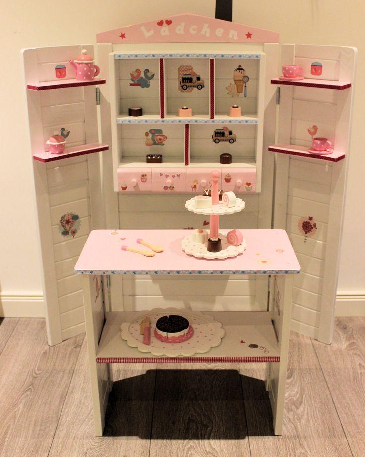 kaufladen wei rosa kaufladen und kinderk che pinterest. Black Bedroom Furniture Sets. Home Design Ideas