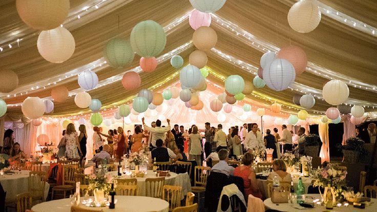 Combinatie pakket PASTEL MIX | Combinatie pakketten | lampion-lampionnen  Mooie zachte pastel kleuren lampionnen. Sfeervolle decoratie voor je bruiloft of babyborrel of feest.