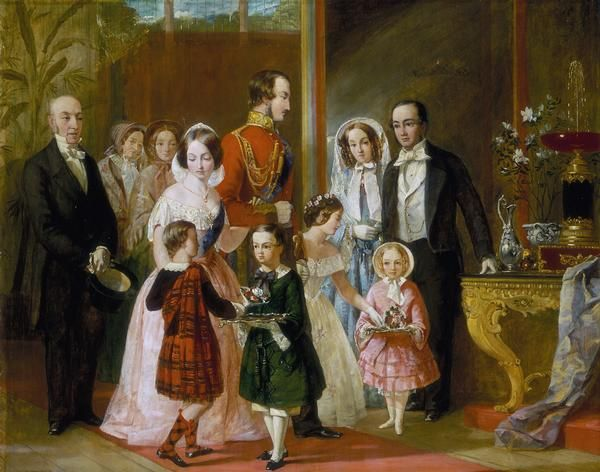 1854 Queen Victoria and family by ? (location unknown to gogm)