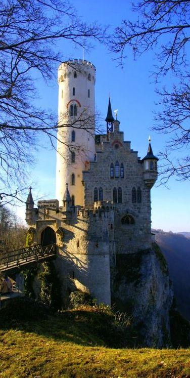 Lichtenstein Castle, Baden-Wurttemberg, Germany