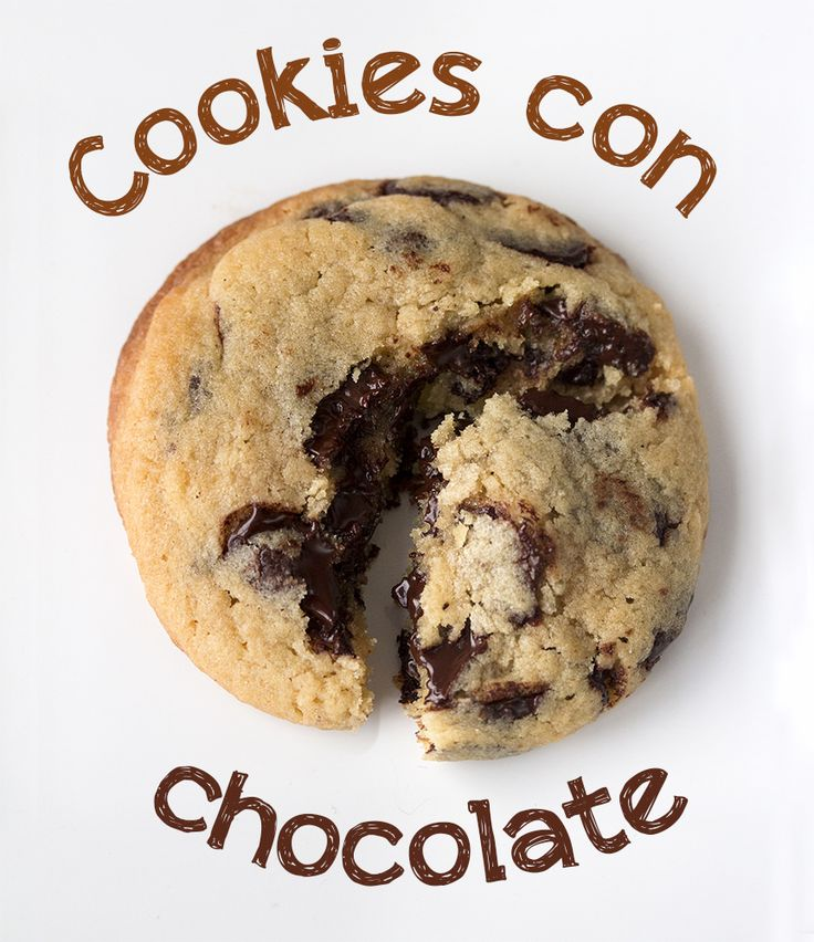receta de cookies con chocolate
