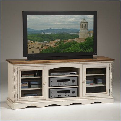 $691.65-Hillsdale Wilshire Plasma/LCD White TV Stand - 4508-880 - Lowest price online on all Hillsdale Wilshire Plasma/LCD White TV Stand - 4508-880 MEAS.66W X 20D X 28H