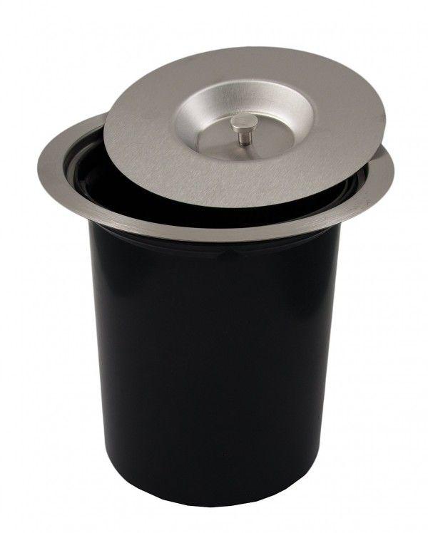 17 meilleures id es propos de poubelle encastrable sur for Poubelle de table design