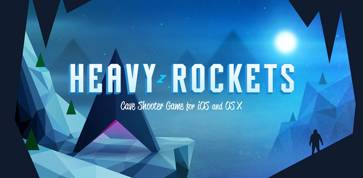 Cave shooter game for iOS http://www.heavyrockets.com  iOS indie game. Cave shooter game for iPhone, iPad and Mac.