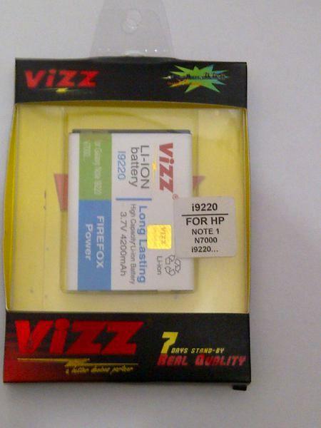 Vizz Samsung Note 1 4200 mAh - Garansi 3 Bulan VIZZ