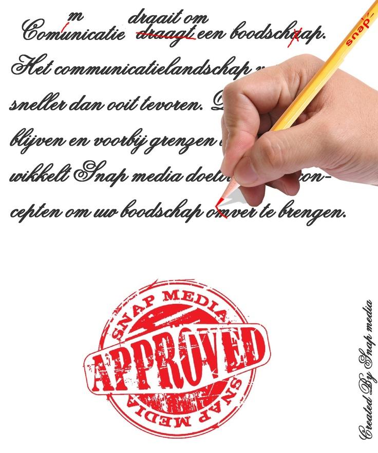 Communicatie draait om een boodschap. Het communicatielandschap verandert sneller dan ooit tevoren. Door scherp te blijven en voorbij grenzen te denken ontwikkelt Snap media doeltreffende concepten om uw boodschap over te brengen.