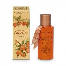 Accordo Arancio illatú Parfüm Mandarin, keserű narancs és lampionvirág-kivonattal - Rendeld meg online! Parfüm és kozmetikum család a Lerbolario naturkozmetikumoktól