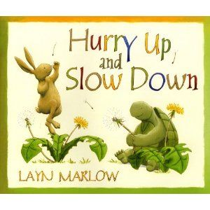 We need to take our time, Tortoise.  We need to look at the pictures!     Tortoise is cautious and careful but when it comes to books, he reads them in a flash. This book beautifully demonstrates how good readers are ones that read thoughtfully – not quickly.