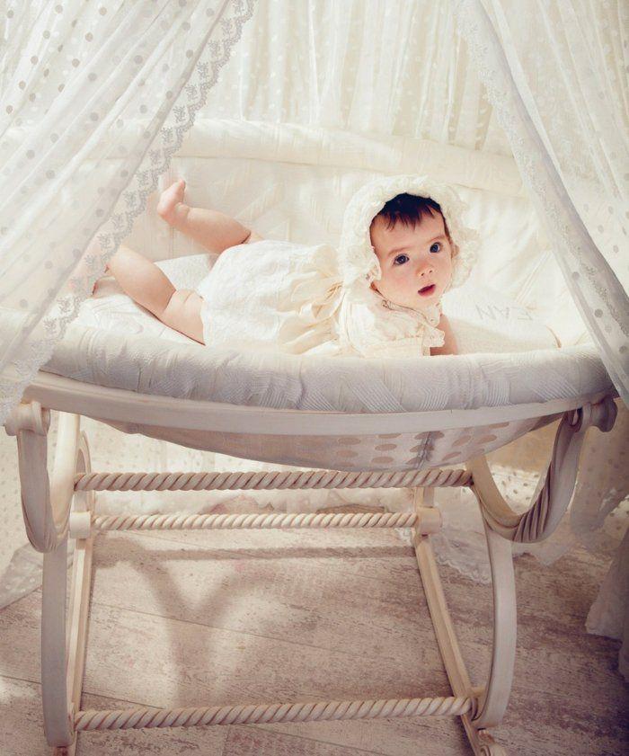 berceau pas cher en bois clair, lit bebe evolutif