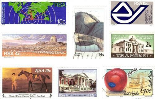 South African stamps