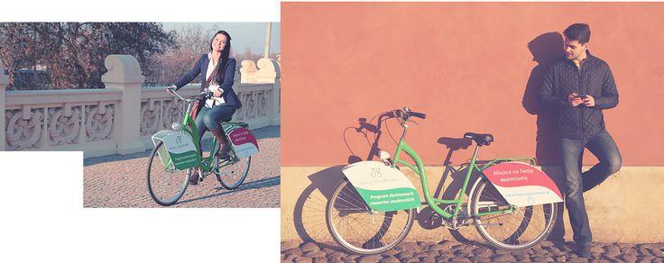 Darmowe rowery dla studentów! Złóż aplikację, odbierz rower, kręć kilometry, wygrywaj nagrody!