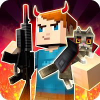 Mad GunZ online shooter 1.1.10 MOD APK Unlimited Shopping  action games