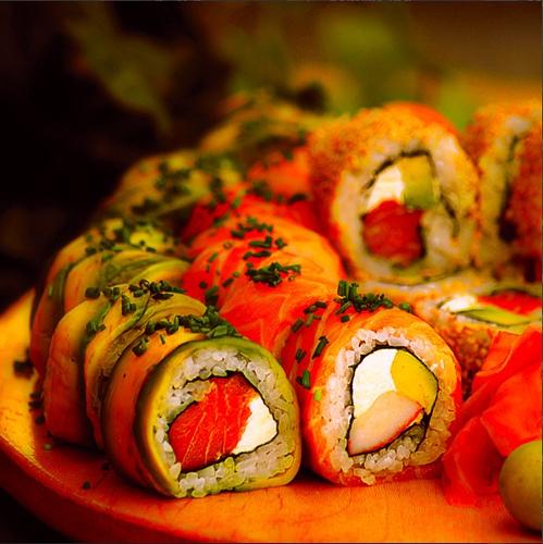 40 best images about creative sushi on pinterest. Black Bedroom Furniture Sets. Home Design Ideas