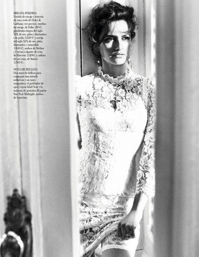 Пенелопа Крус в Dolce для Vogue Spain в октябре